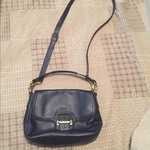 Coach Taylor with Leather Flap crossbody